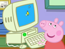 Imagen del  vídeo de Peppa Pig titulado EL ORDENADOR DEL ABUELO PIG