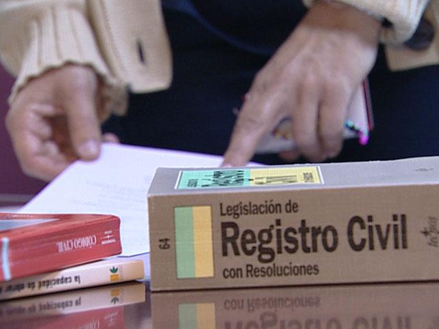 El proyecto de nuevo Registro Civil pretende ordenar los apellidos por orden alfabético