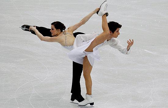 Oro de Danza para la pareja canadiense