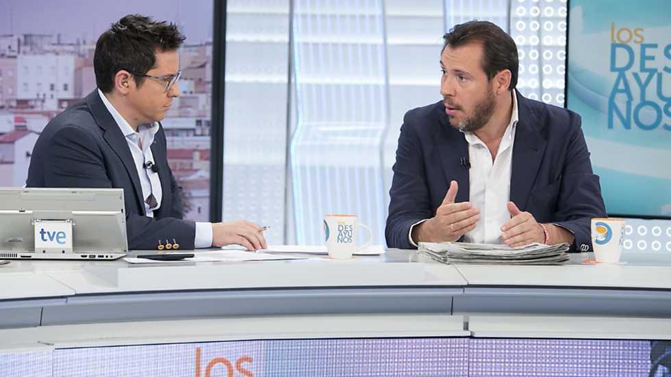 Los desayunos de TVE - Óscar Puente, portavoz de la Ejecutiva del PSOE y alcalde de Valladolid