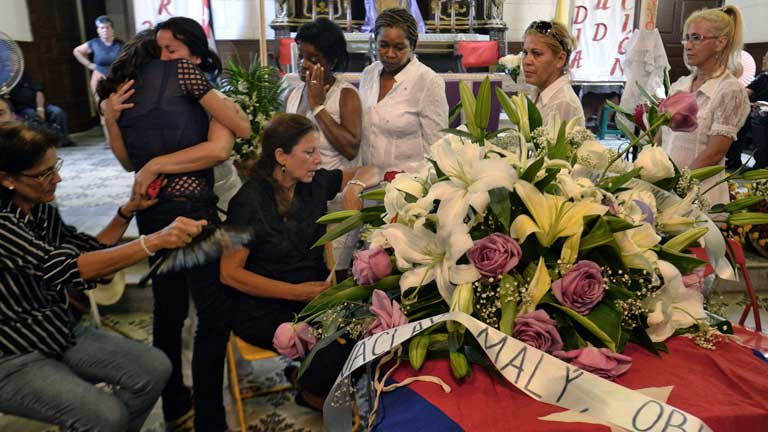 Los restos mortales de Oswaldo Payá serán enterrados este martes