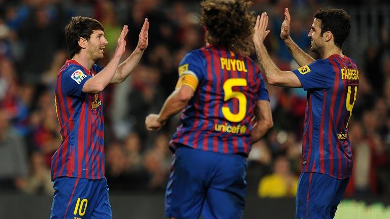 Otro triplete de Messi destroza al Málaga