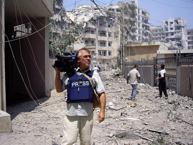 Ovalle en Beirut, en 2006