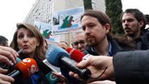 Ir al VideoPablo Iglesias reitera su petición de suprimir la retransmisión de la misa católica en La2 de TVE