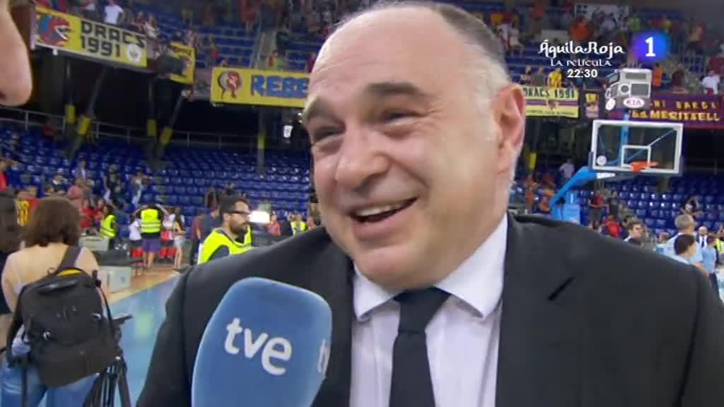 """Ir al VideoPablo Laso: """"El madridismo se acordará siempre de esta temporada"""""""