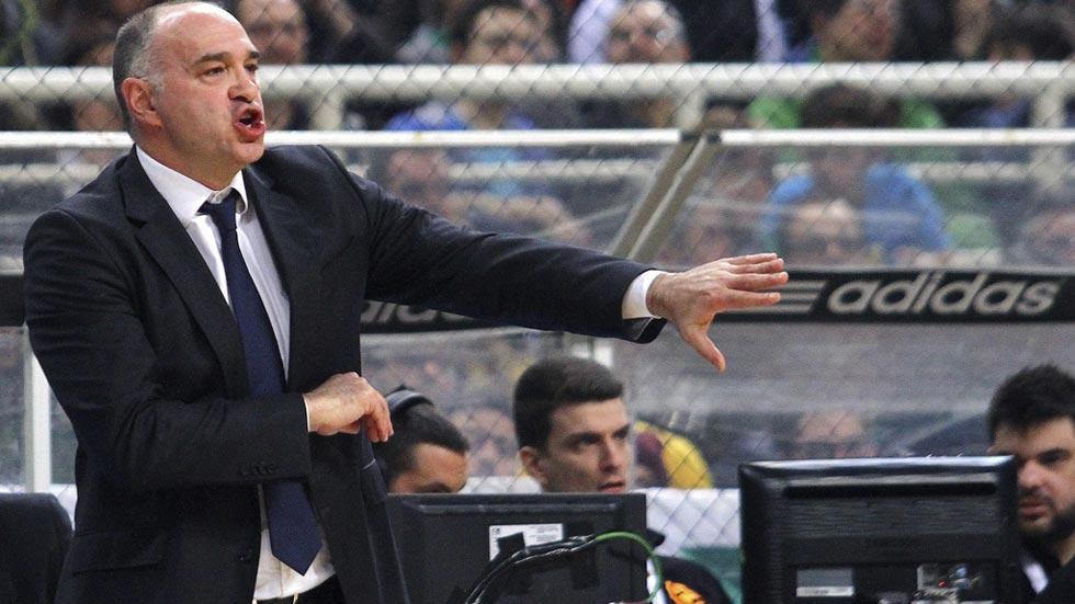 """Pablo Laso: """"Solo pienso en ganar el partido"""""""