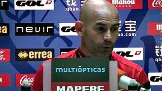 """Paco Jémez: """"Nosotros como club no podemos pasar la oportunidad de ayudar"""""""