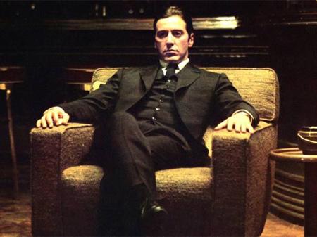 Con 'El Padrino II' (1975) profundizó en el retrato criminal de Michael Corleone cosechando tres Oscar (película, dirección y guion.