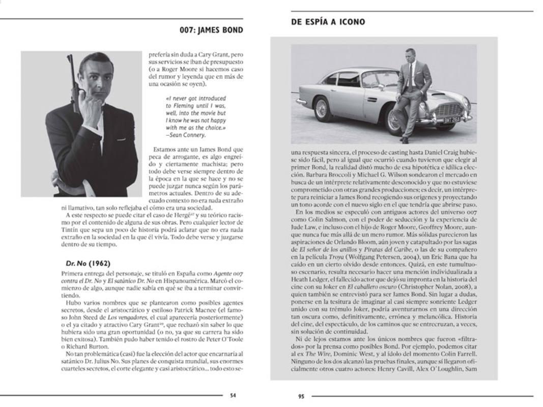 Páginas de '007.James Bond. De espía a icono'