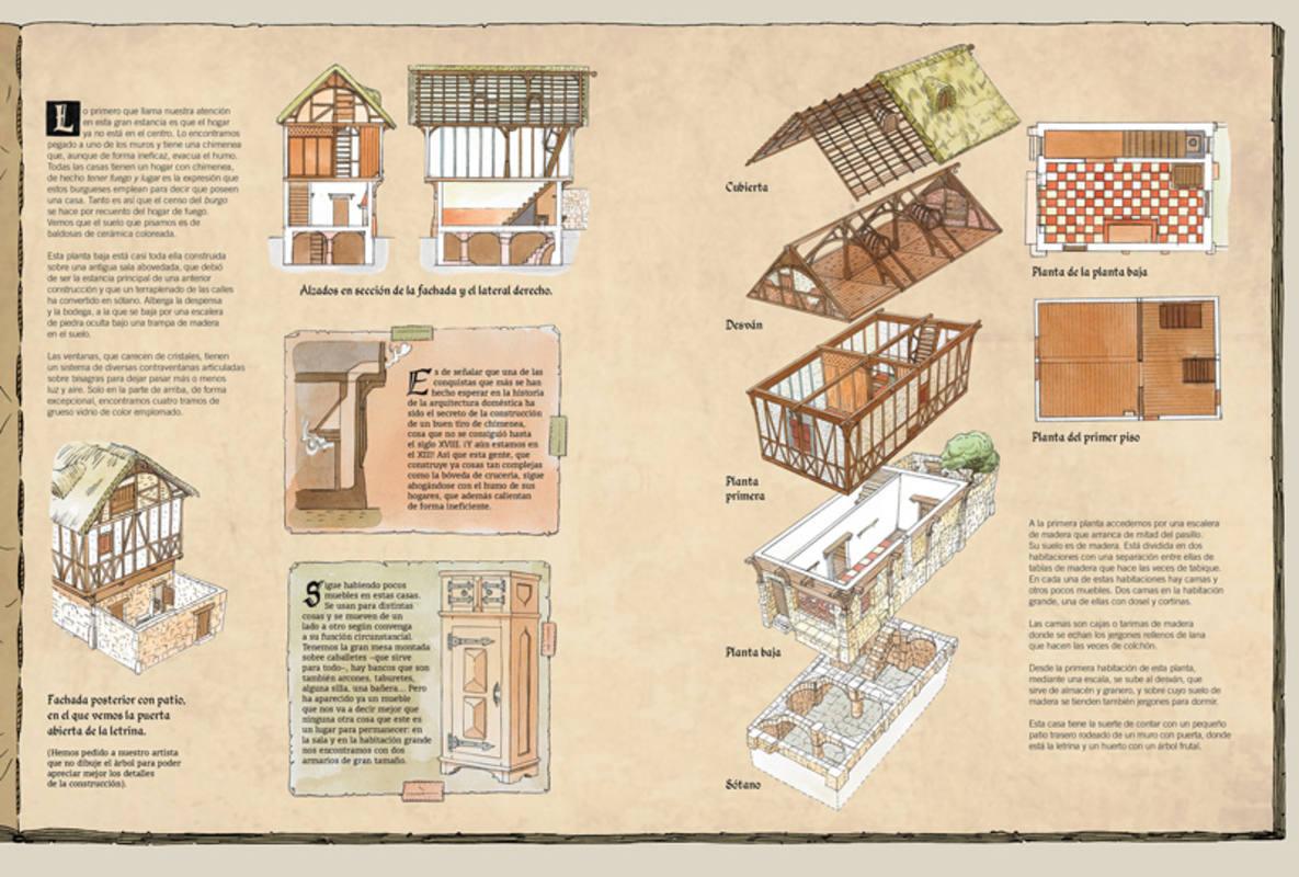 Páginas de 'La casa'