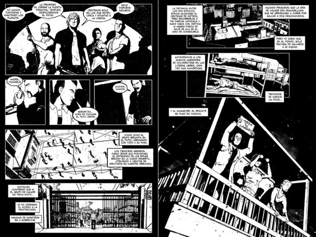 Páginas de 'Death Row'