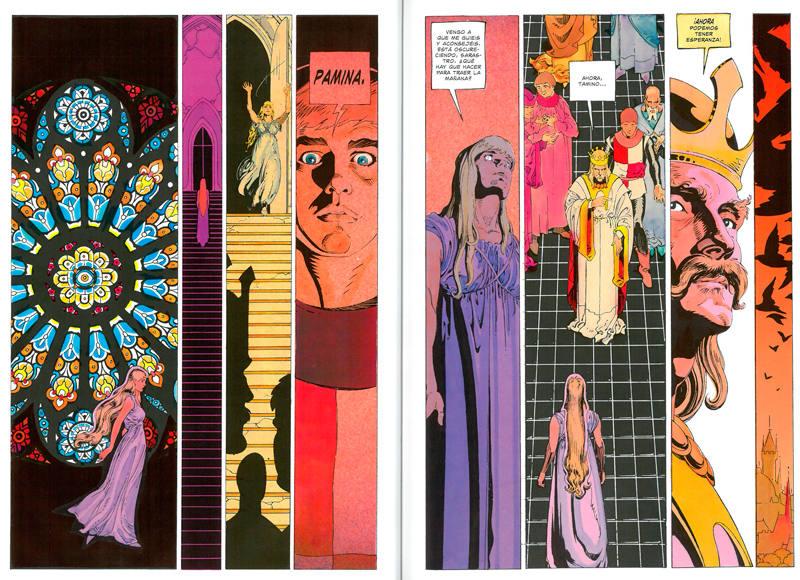 Páginas de 'La flauta mágica'