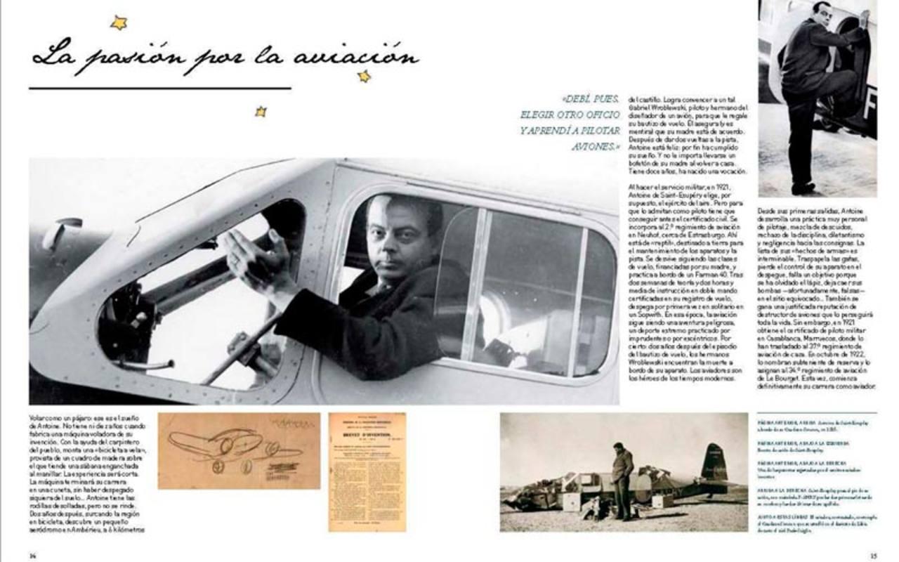 Páginas de 'El Principito. Encliclopedia ilustrada'
