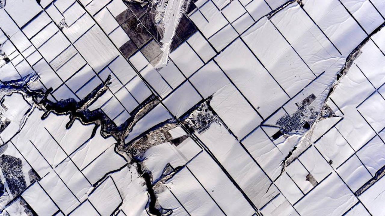 Un paisaje nevado. (SCOTT KELLY)