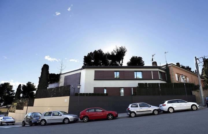 Palacete de Pedralbes, de Iñaki Urdangarin y la infanta Cristina, en Barcelona