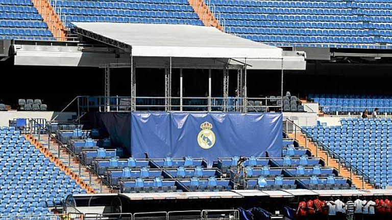 El palco del bernab u ya espera a bale pero mourinho se - Palco santiago bernabeu ...