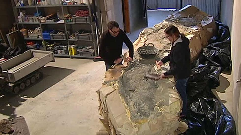 Encuentran en Lleida restos de un titanosaurio de más de cinco metros de largo
