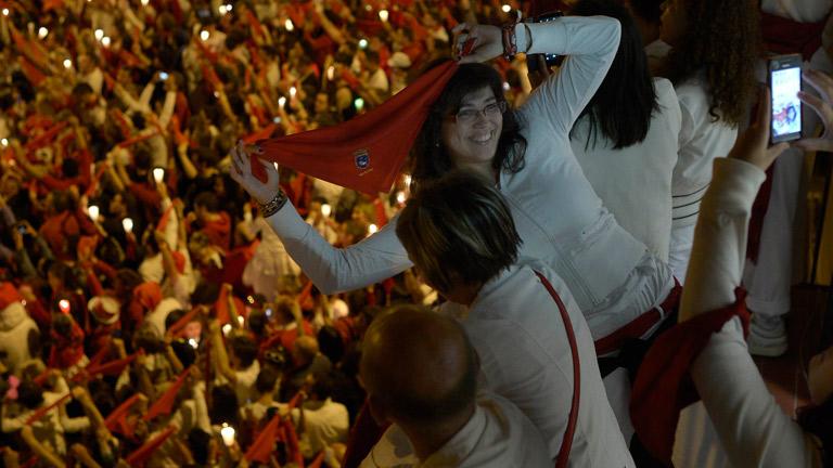 Pamplona despide los Sanfermines 2014 con el tradicional 'Pobre de mí'
