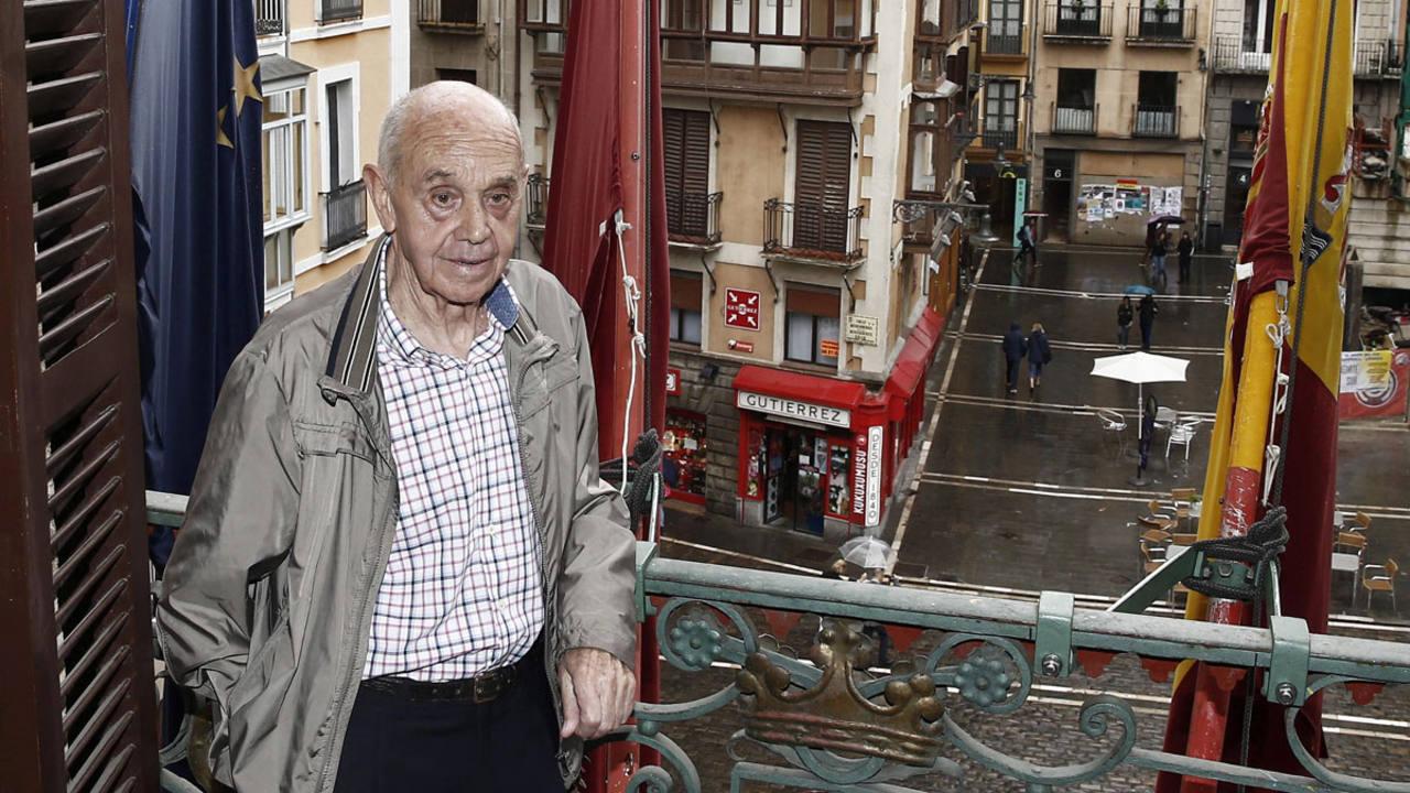 El pamplonés Jesús Ilundain Zaragüeta conocido como El Tuli lanzará el chupinazo anunciador de San Fermín 2016
