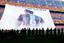 Fotogaleria: El Camp Nou despide a Xavi Hernández con honores