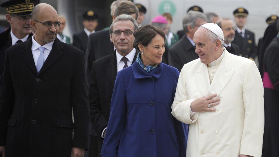 El papa Francisco visita el Parlamento Europeo