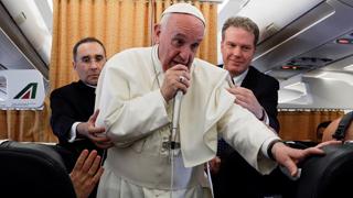 El papa insta a los agentes venezolanos a dar las garantías necesarias para facilitar el diálogo
