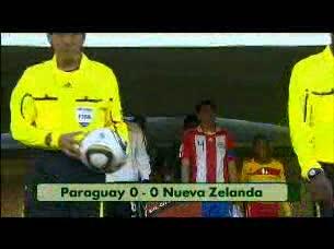 Resumen del Paraguay 0-0 Nueva Zelanda