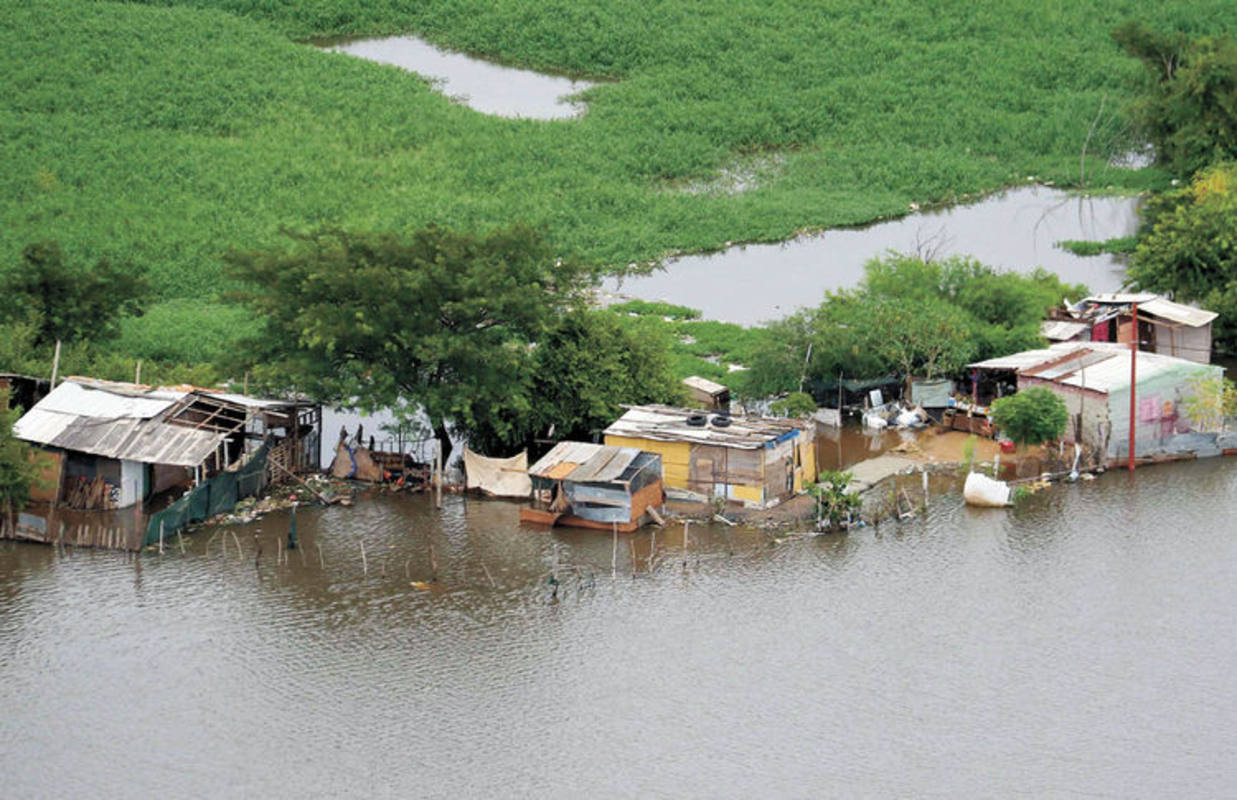 Paraguay ha sido el país más afectado por las inundaciones en Sudamérica.