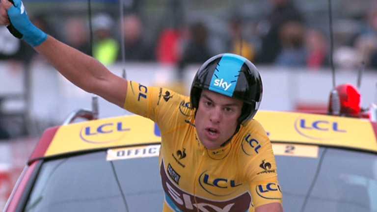 Ciclismo - París-Niza - 7ª etapa: Nice-Col d'Eze