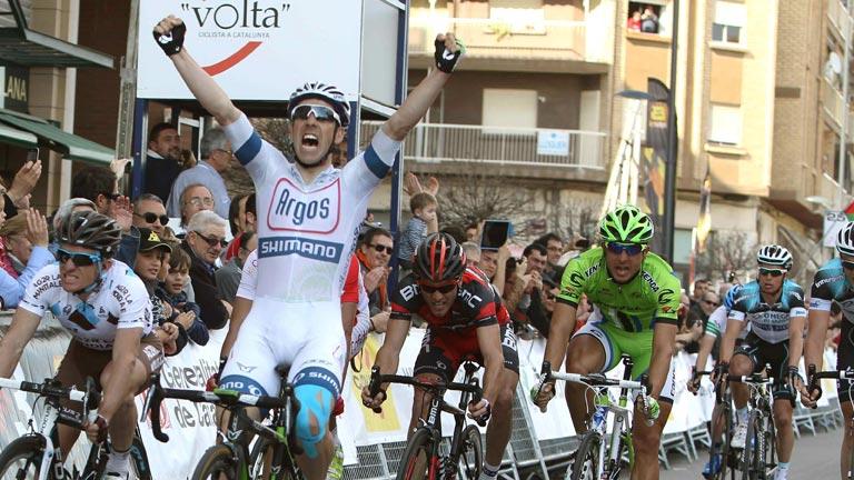Parisien, vencedor en Lleida en la Volta