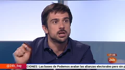 Ir al VideoParlamento - La entrevista - Ramón Espinar, senador de Podemos - 25/07/2015