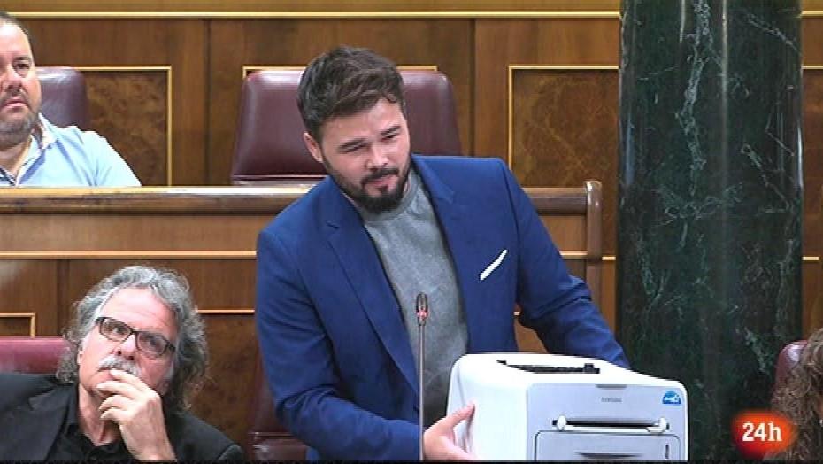 Ir al VideoParlamento - El foco parlamentario - Cataluña en los plenos - 16/09/2017