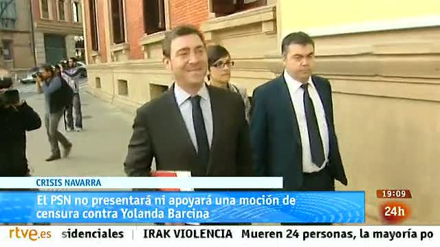 Ir al VideoParlamento- El foco parlamentario - El PSN no presentará moción de censura contra Yolanda Barcina - 08/03/2014
