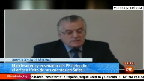 Ir al VideoParlamento - Otros parlamentos - Bárcenas en el Parlament - 20/06/2015