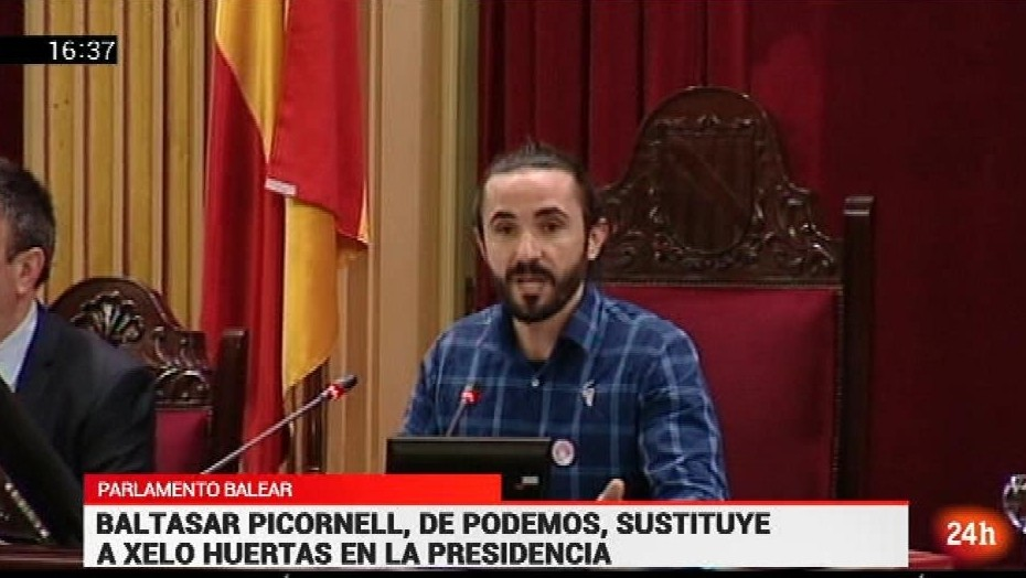 Nuevo presidente parlamento balear