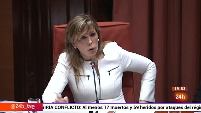 Ir al VideoParlamento - Otros parlamentos - Sánchez-Camacho declara en el Parlament - 11/04/2015