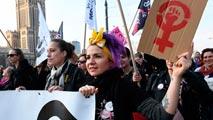 Ir al VideoParo internacional por el 8 de marzo, Día de la Mujer