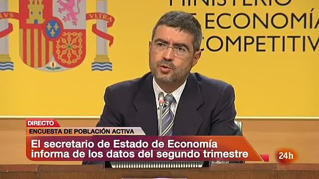 """El paro muestra signos """"menos negativos"""" según Economía"""