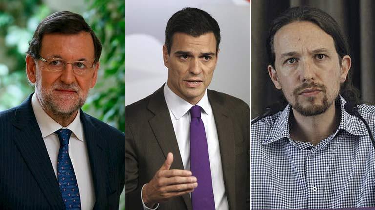 El PP aumenta su ventaja sobre el PSOE y Podemos irrumpe como tercera fuerza, según el CIS