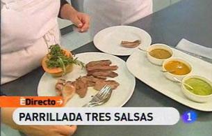 España Directo - Parrillada tres salsas