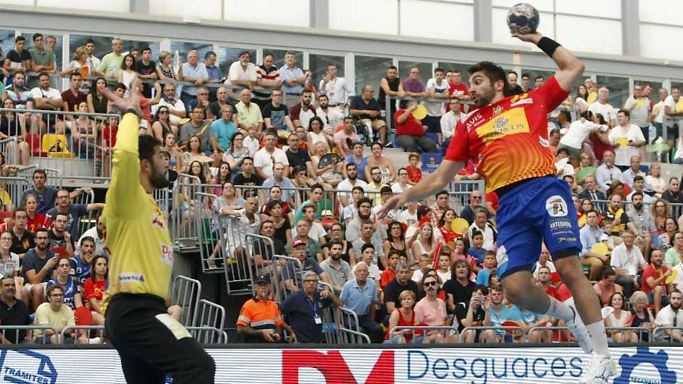 Balonmano - Partido de las Estrellas Masculino desde Almoradí (Alicante)