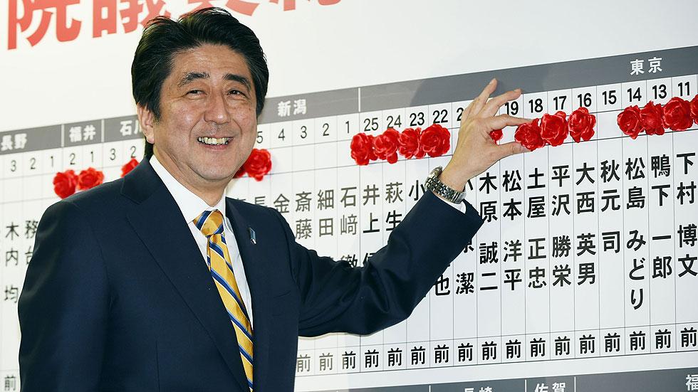 El partido de Shinzo Abe gana las elecciones generales en Japón por mayoría absoluta