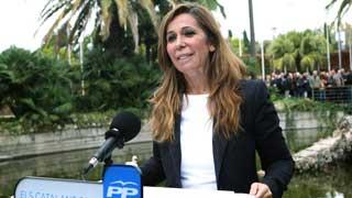 """Sánchez-Camacho denuncia que la """"farsa"""" del 9N lleva a Cataluña al """"desprestigio internacional"""""""