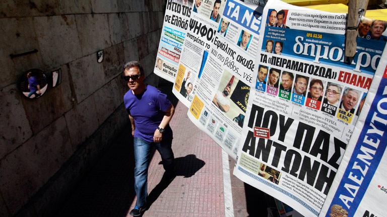 Los partidos pro-rescate en Grecia necesitan un tercer aliado para poder formar gobierno