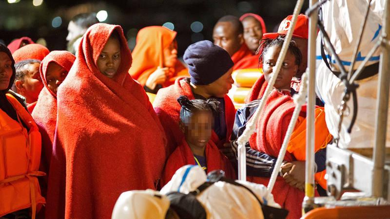 El pasado 12 de octubre llegaron 208 personas, entre ellas 26 mujeres y 6 niños de corta edad, al puerto de Motril