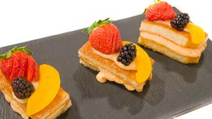 Saber Cocinar - Postres - Pastelitos de membrillo y fruta