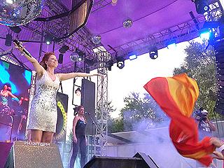 Pastora Soler cautiva a sus fans en Bakú