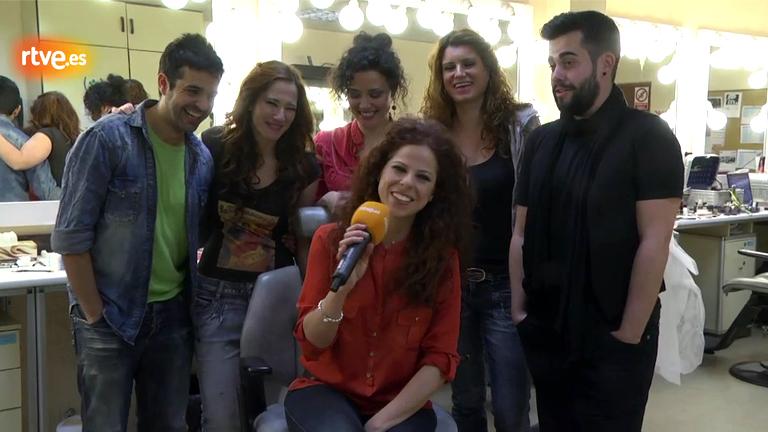 Eurovisión 2012 - Pastora Soler presenta a su coro