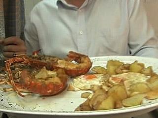 España Directo - Patatas, huevos y langosta