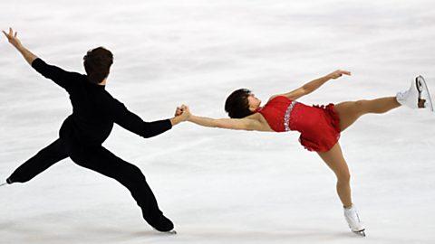 Patinaje artístico Int. de Francia - Programa  libre parejas